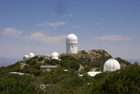 The summit of Kitt Peak National Observatory.
